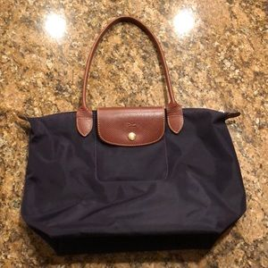 Like new Longchamp Bag in Eggplant!